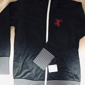 Fireball zip up jacket NWT fits like S/M
